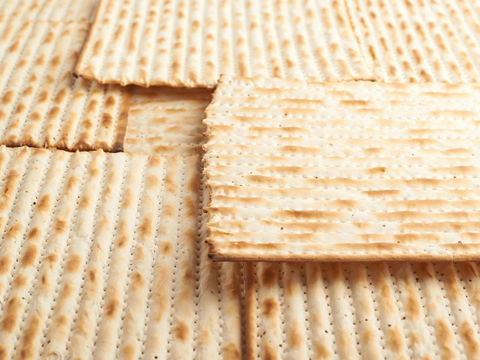 Darf beim Pessachfest nicht fehlen: Matze-Brot