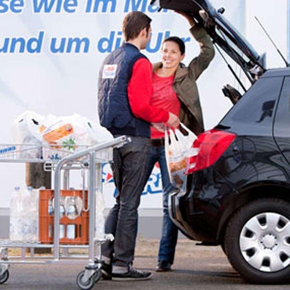 Schnell und praktisch? Der Drive-In-Supermarkt