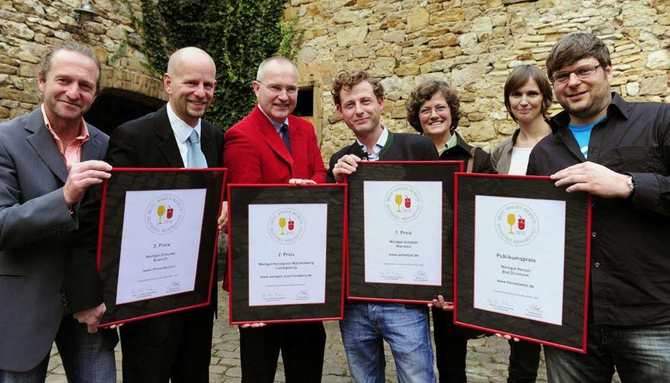 Auszeichnungen für die besten Winzer-Websites 2010