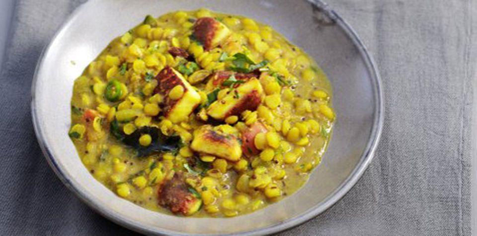 Indisches Linsencurry ist ein Gericht mit ayurvedischen Ausprägungen.