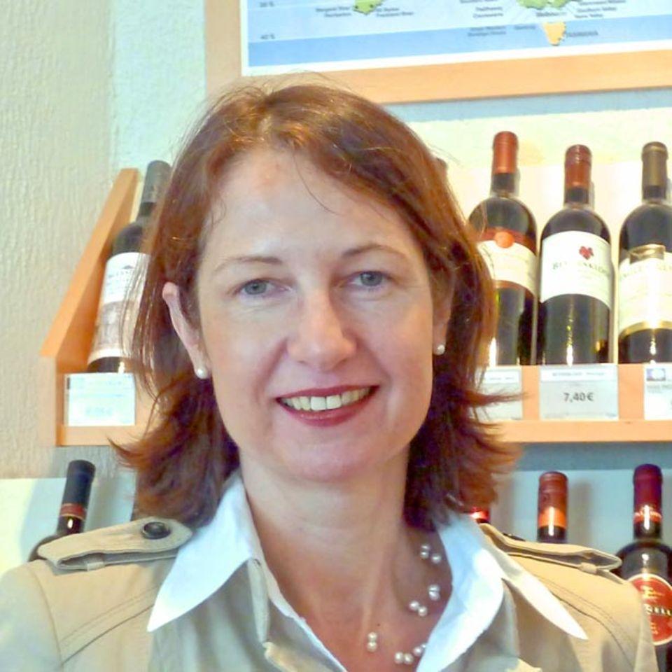 Wein-Fachfrau Anja Wetzl.