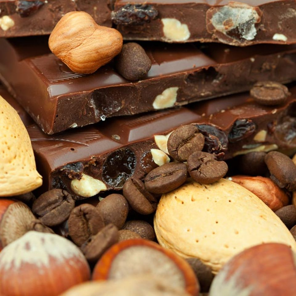 Vielfalt mit Kakao, Nüssen und Gewürzen.