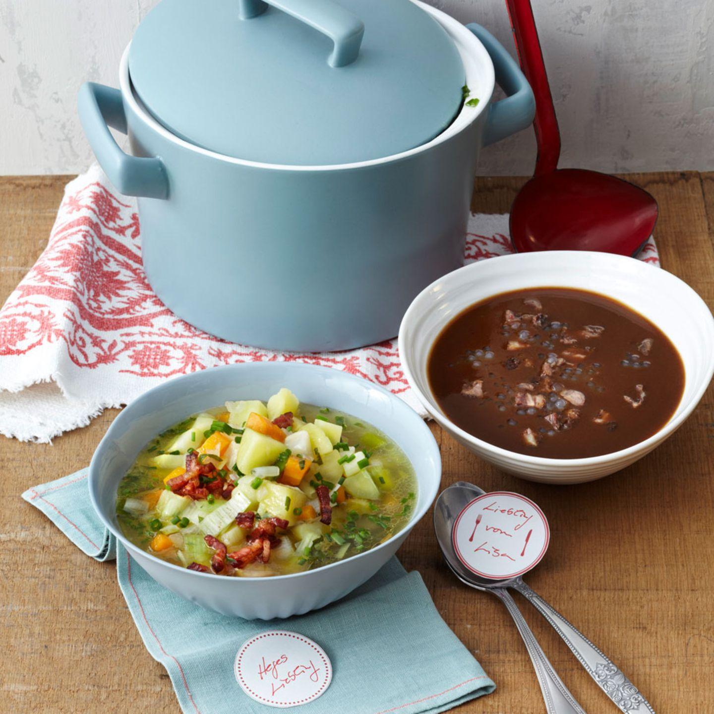 Preiswerte Suppen & Eintöpfe