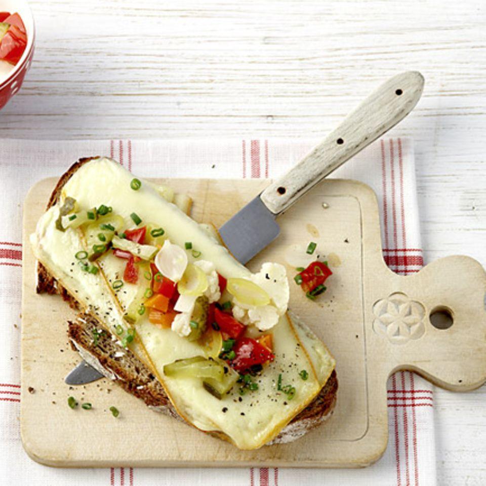 Sandwiches mit Käse