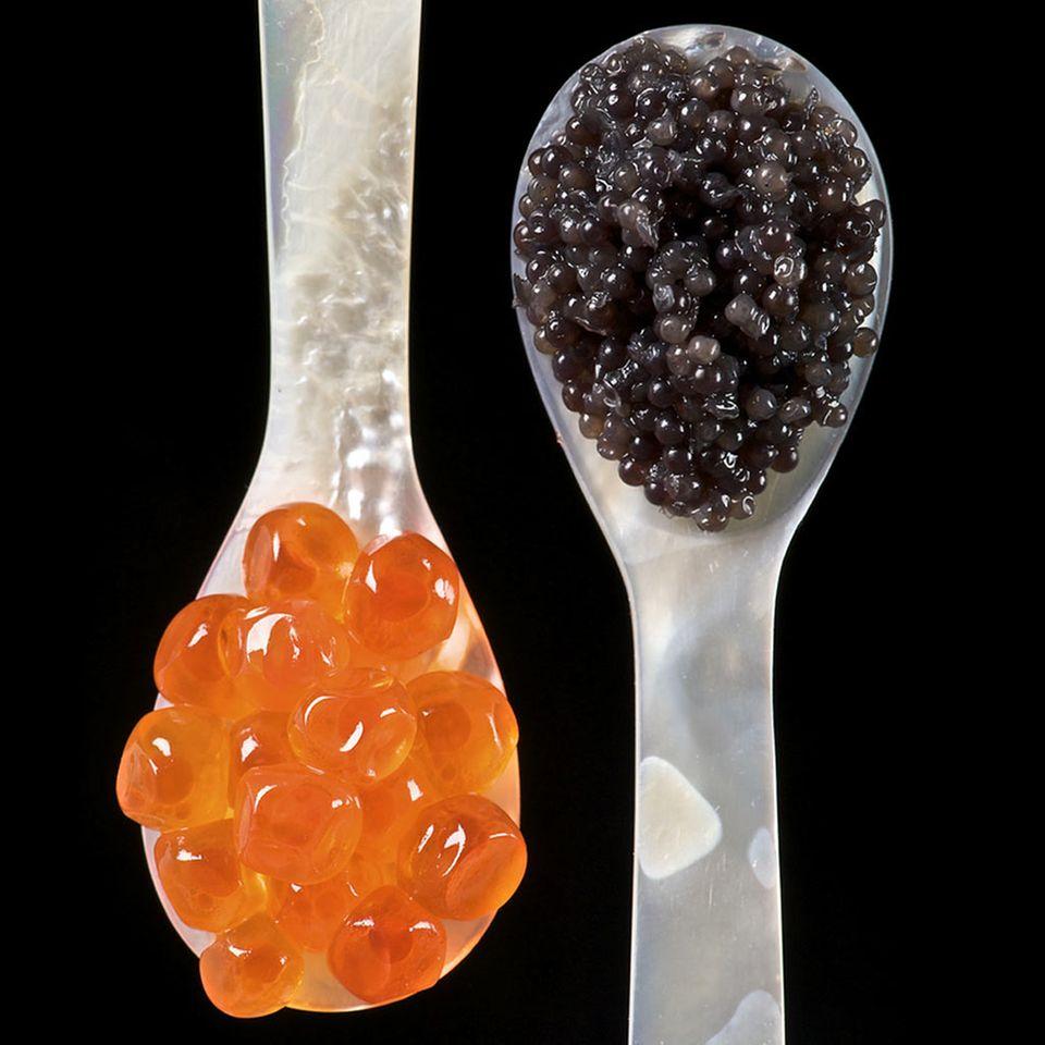 Kaviar: edle Garnitur für russische Eier