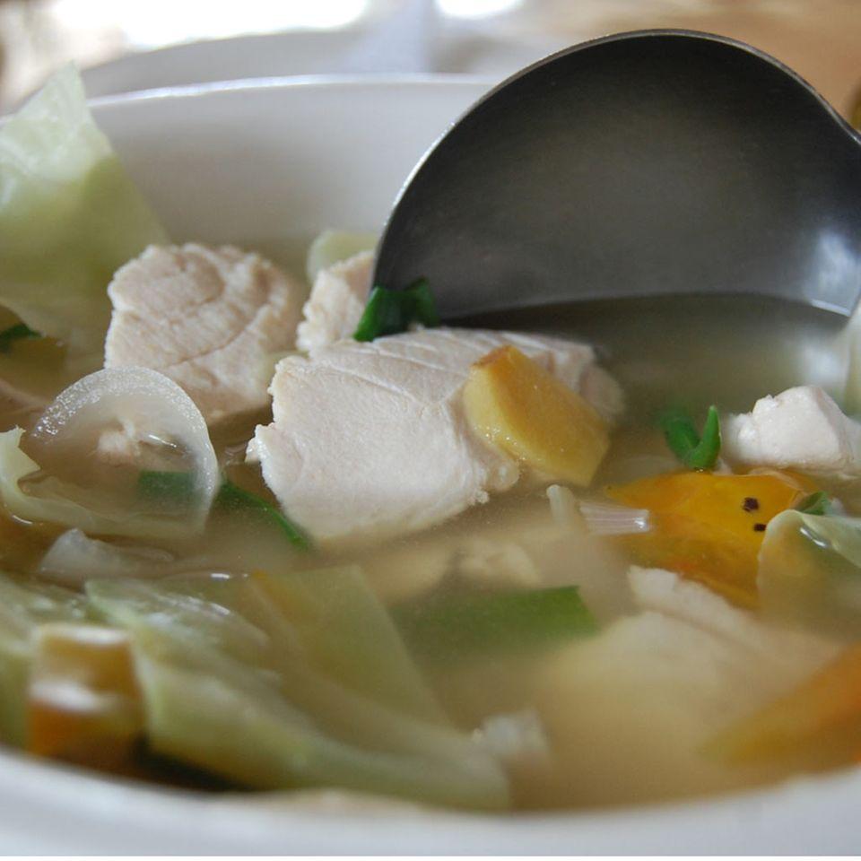 Ucha: russische Fischsuppe