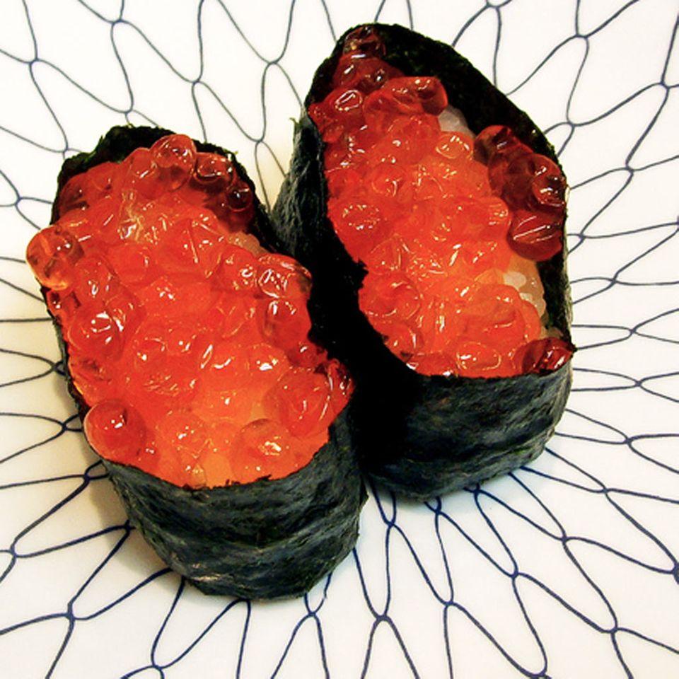 Roter Kaviar vom Lachs