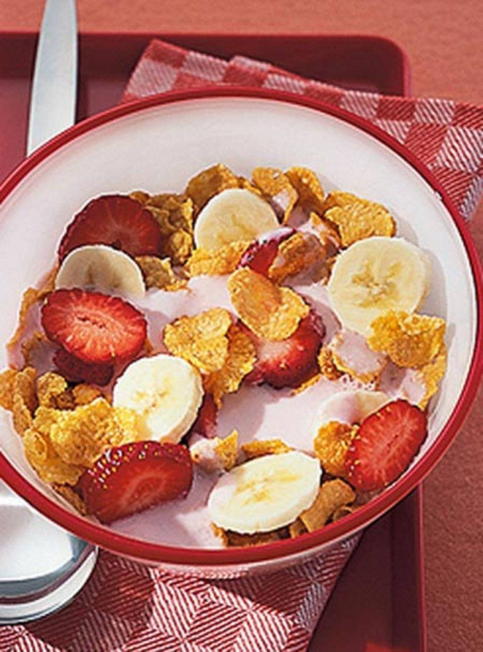 Beliebtes Frühstück: Cornflakes
