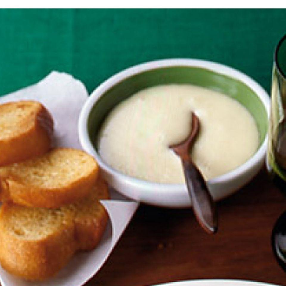 Fischsuppe mit Aioli