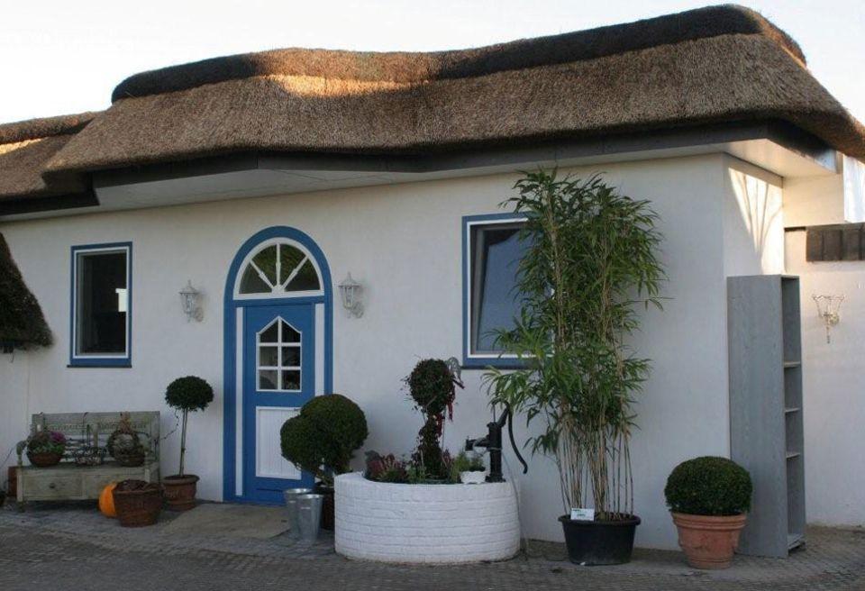 Romantisch: Die Kochschule im Reetdachhaus