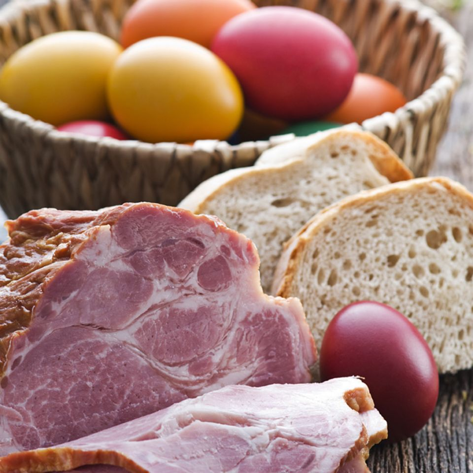 In Österreich darf ein Schinken zu Ostern nicht fehlen