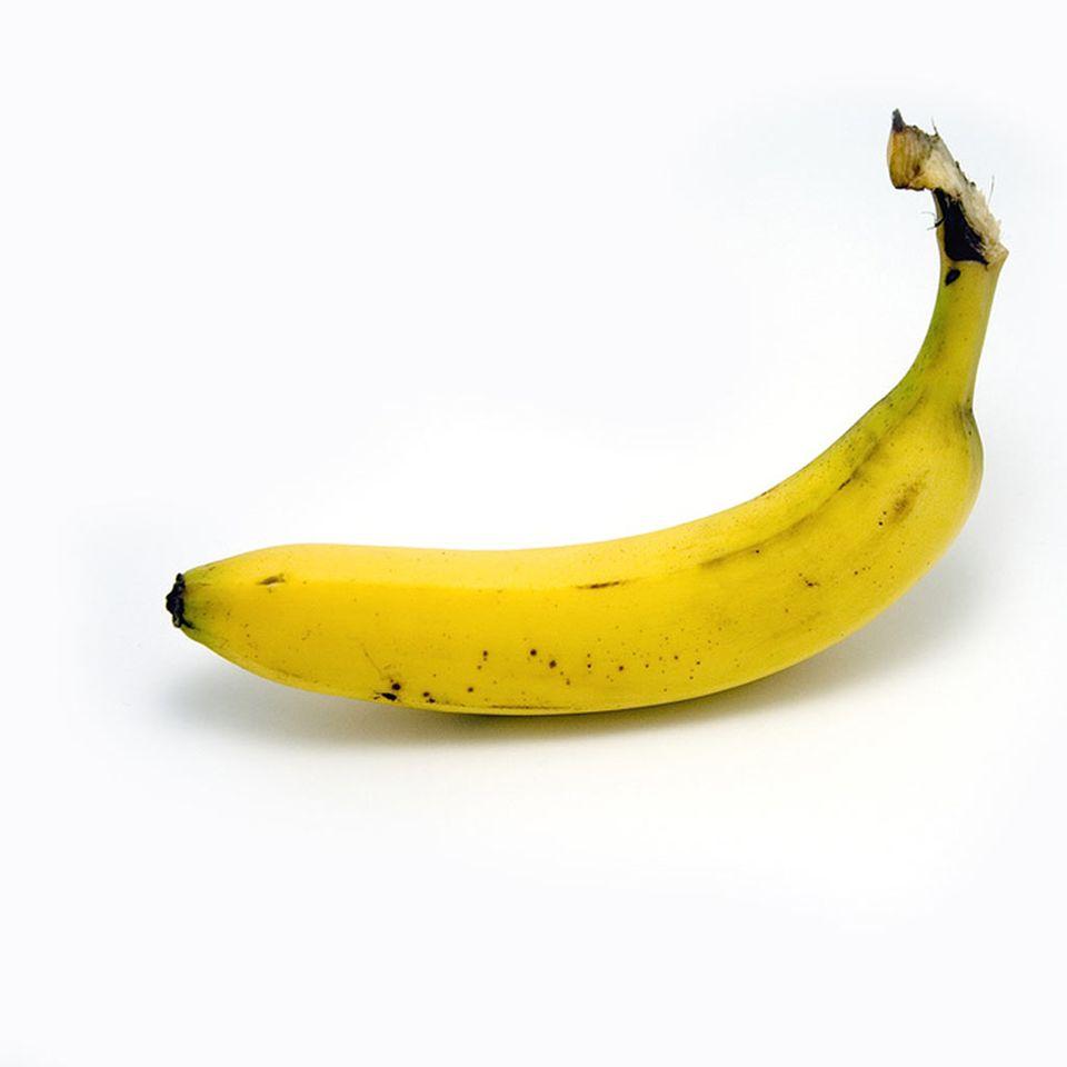 Die wichtigste Zutat ist natürlich die Banane