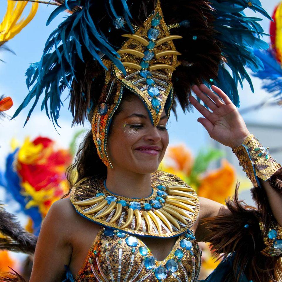 Beim Karneval in Rio buhlen die Sambaschulen um die Gunst des Publikums