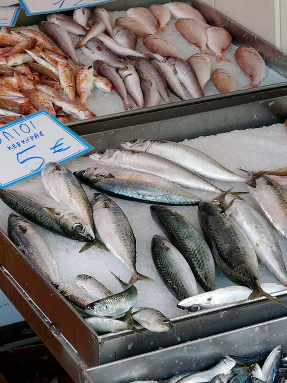 Fischmarkt auf Korfu