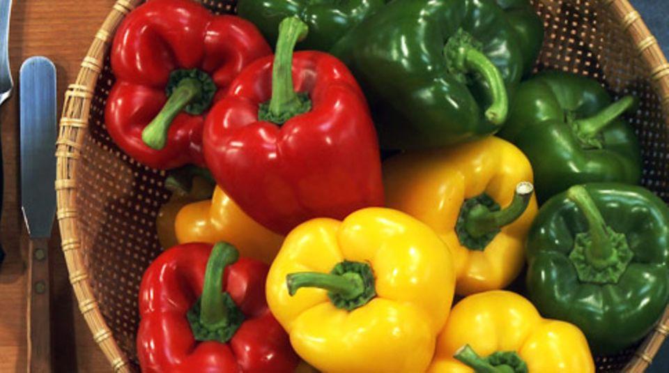Wichtige Saucenzutat beim Zigeunerschnitzel: Paprika