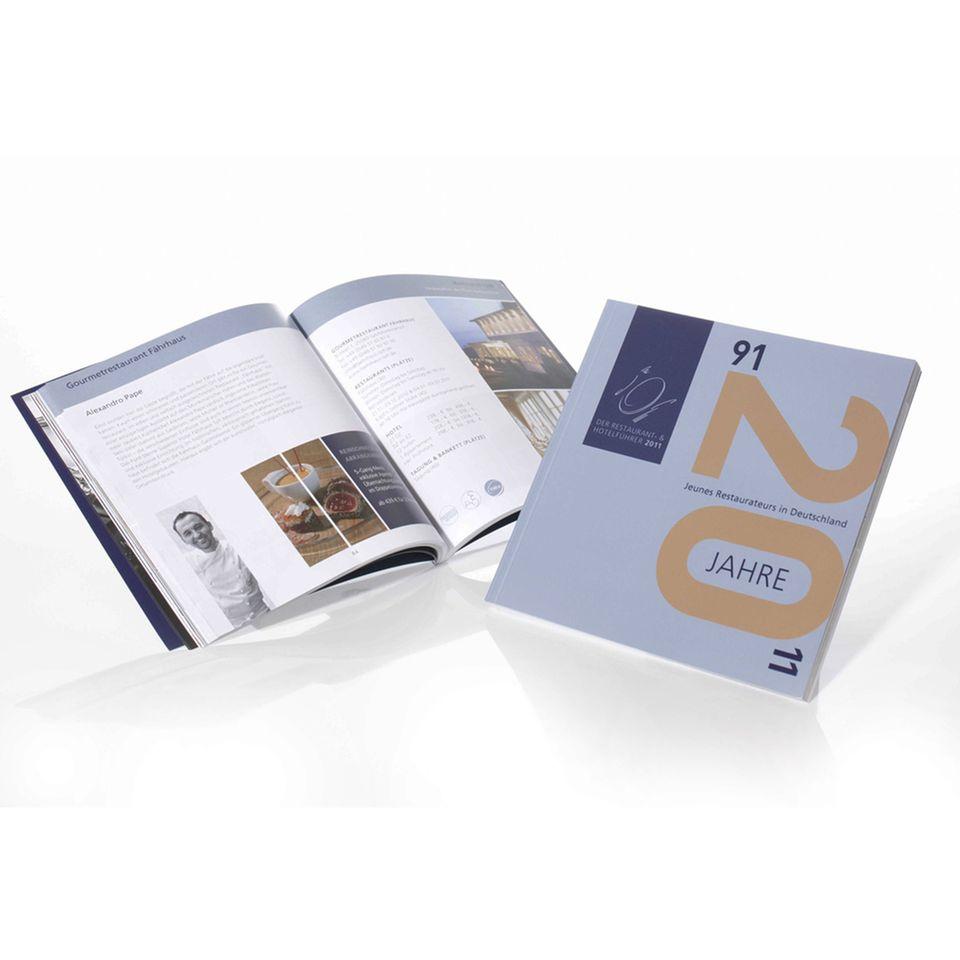 Der Restaurant- & Hotelführers 2011: auf 160 Seiten Infos zu jungen deutschen Spitzenköchen