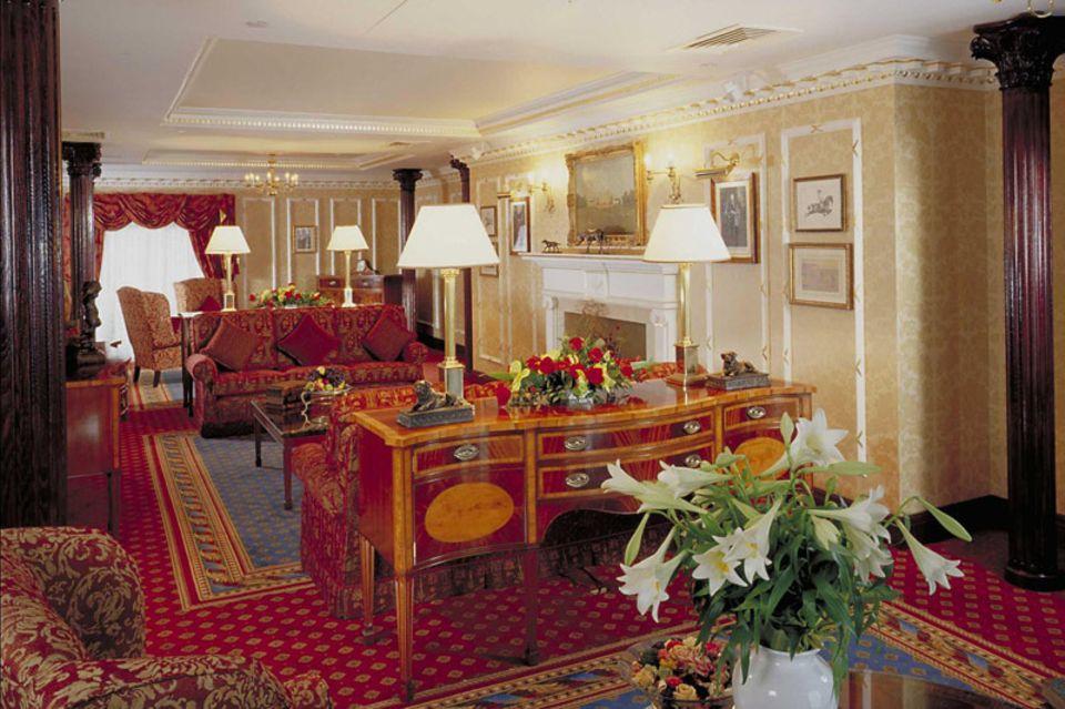 Hier können Royal Watcher standesgemäß logieren: in der Royal Suite im Hyatt Regency
