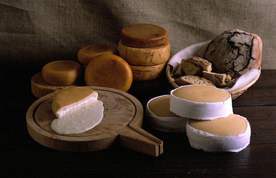 Portugiesischer Käse ist noch sehr ursprünglich
