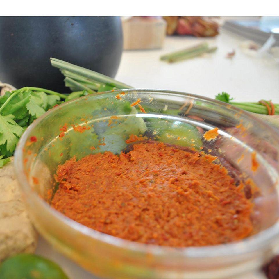Currypasten sind wichtiger Bestandteil authentischer Thai-Küche