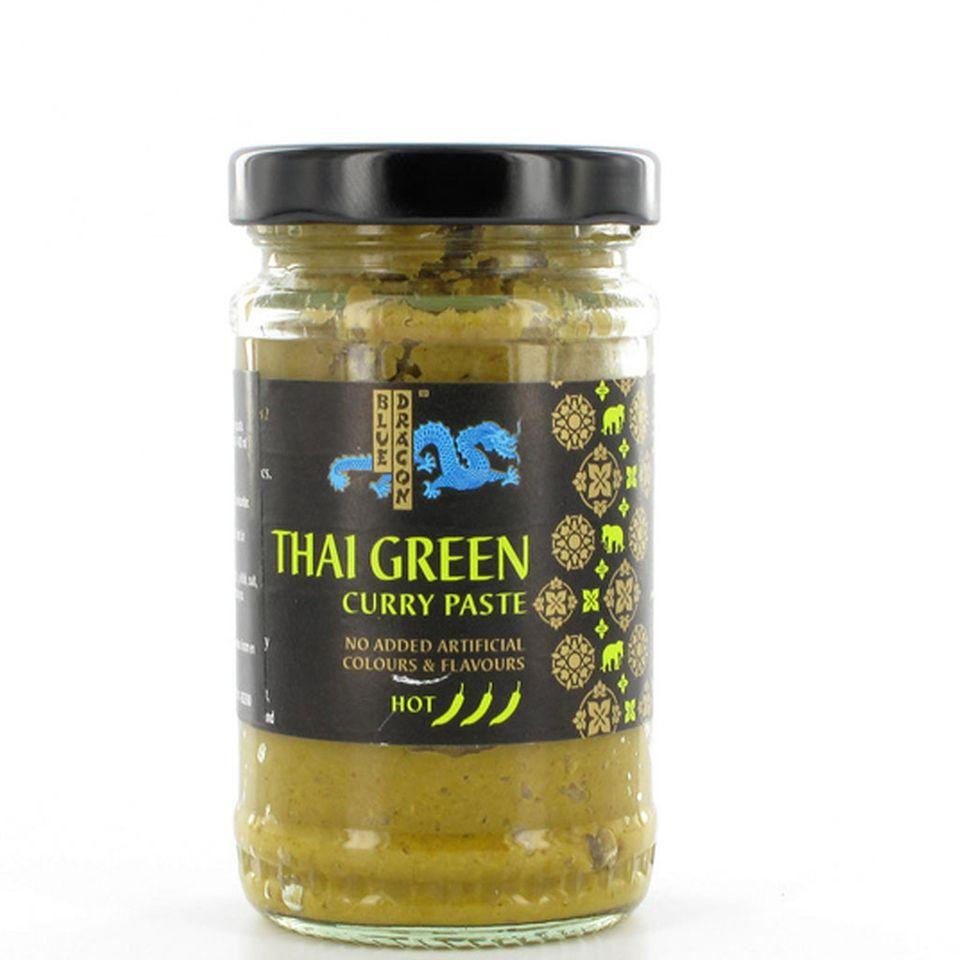 Für Mutige: grüne Currypaste