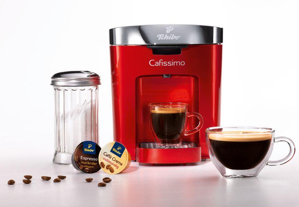 Mini-Format, Maxi-Kaffeegenuss: Tchibo Cafissimo DUO