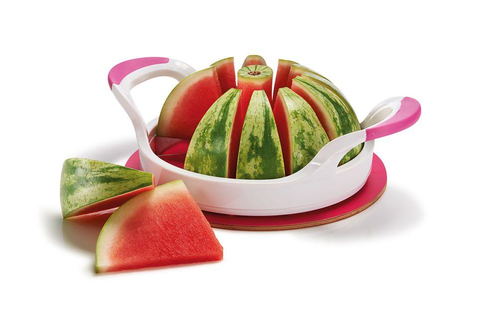 """Aus der Tchibo """"Durstlöscher Küche"""": Melonenspalter"""