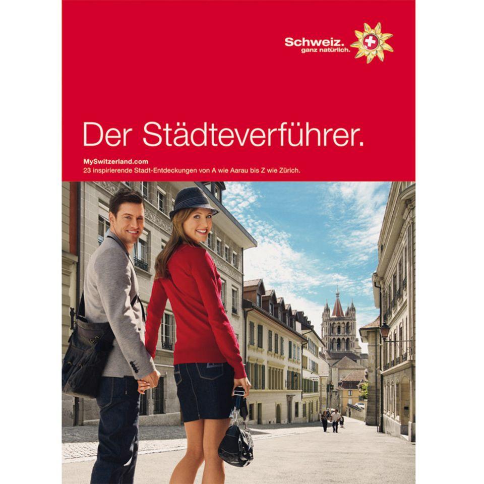 Der Städteverführer stellt 23 Schweizer Städte vor
