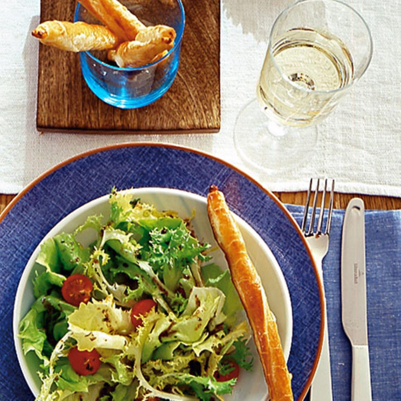Grüner Salat ist reich an Vitamin K