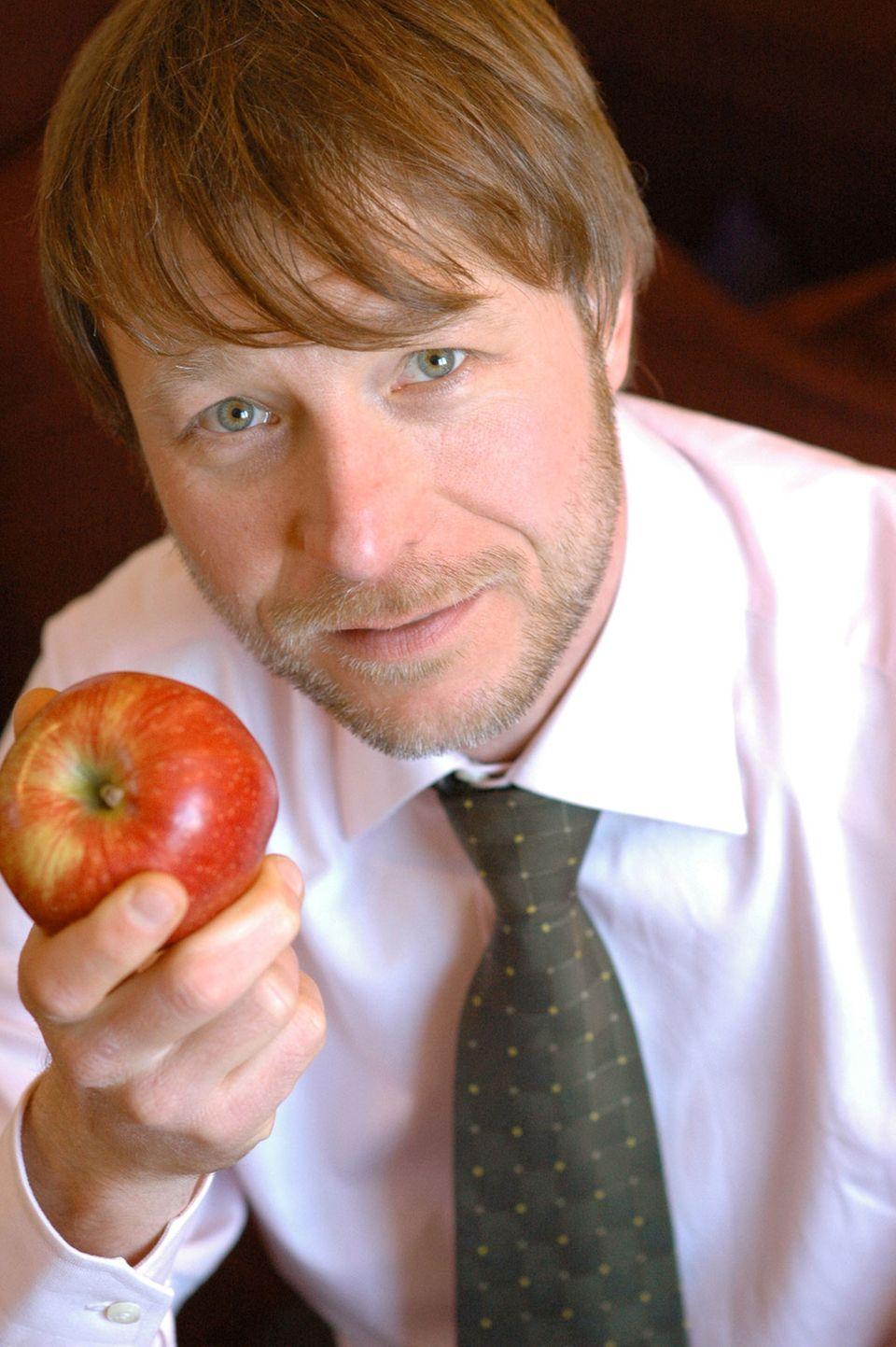 """Dr. Markus Keller, Autor des Fachbuches """"Vegetarische Ernährung"""""""