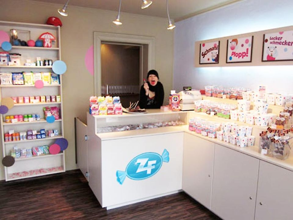 Das Ladengeschäft von Zahnfreundchen in Hamburg.