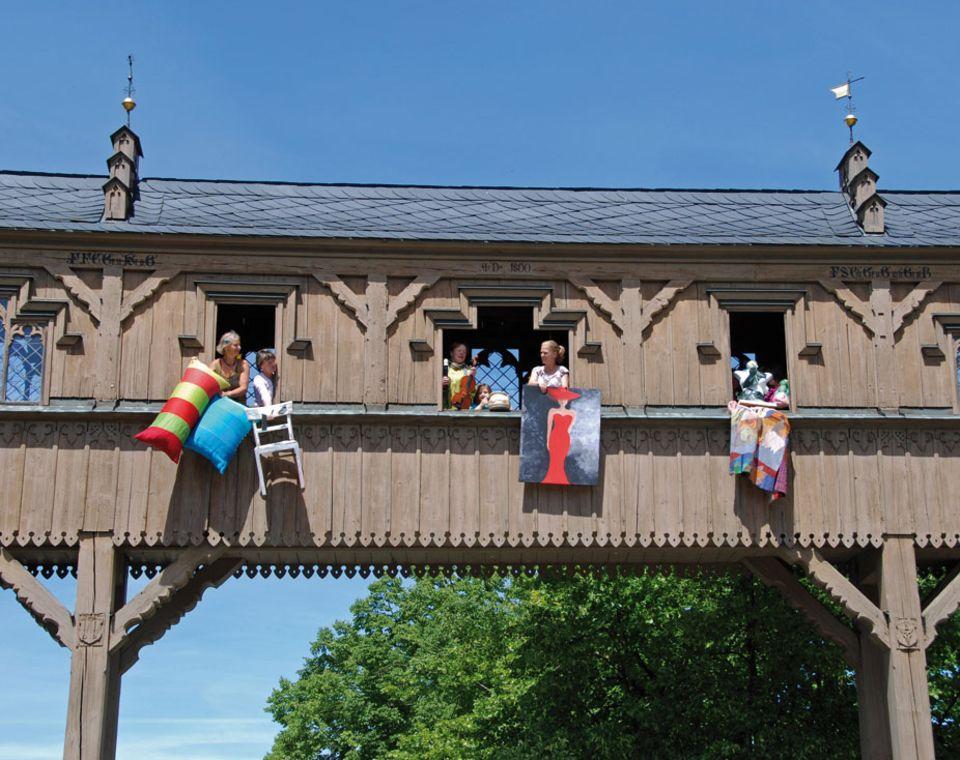 Im Künstlerdorf Thurnau