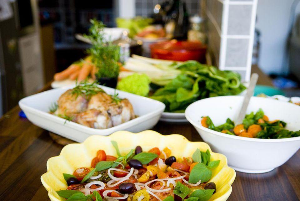 KommtEssen kocht alle Rezepte vor und testet: Ist das Essen schnell fertig und lecker?