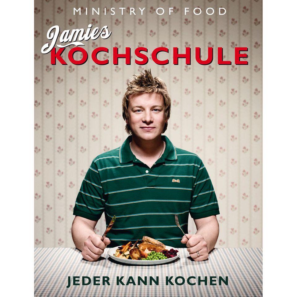"""Beliebtes Kochbuch von Jamie Oliver: """"Jamie's Kochschule"""""""