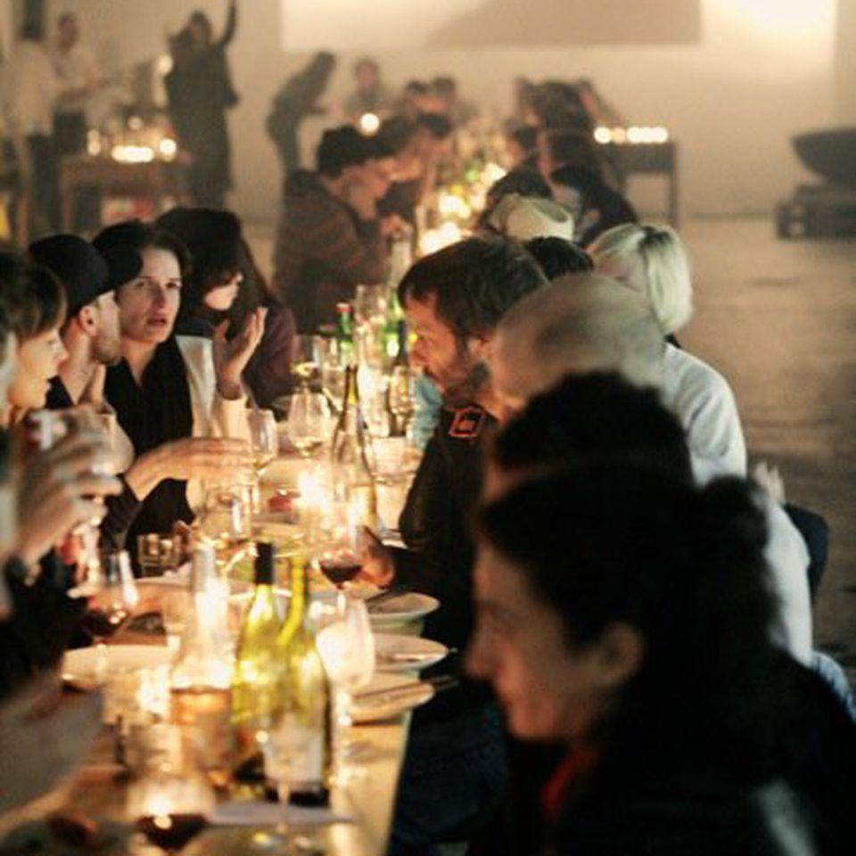 Bei den Kitchen Guerillas ist geselliges Beisammensein genauso wichtig wie das Essen selbst