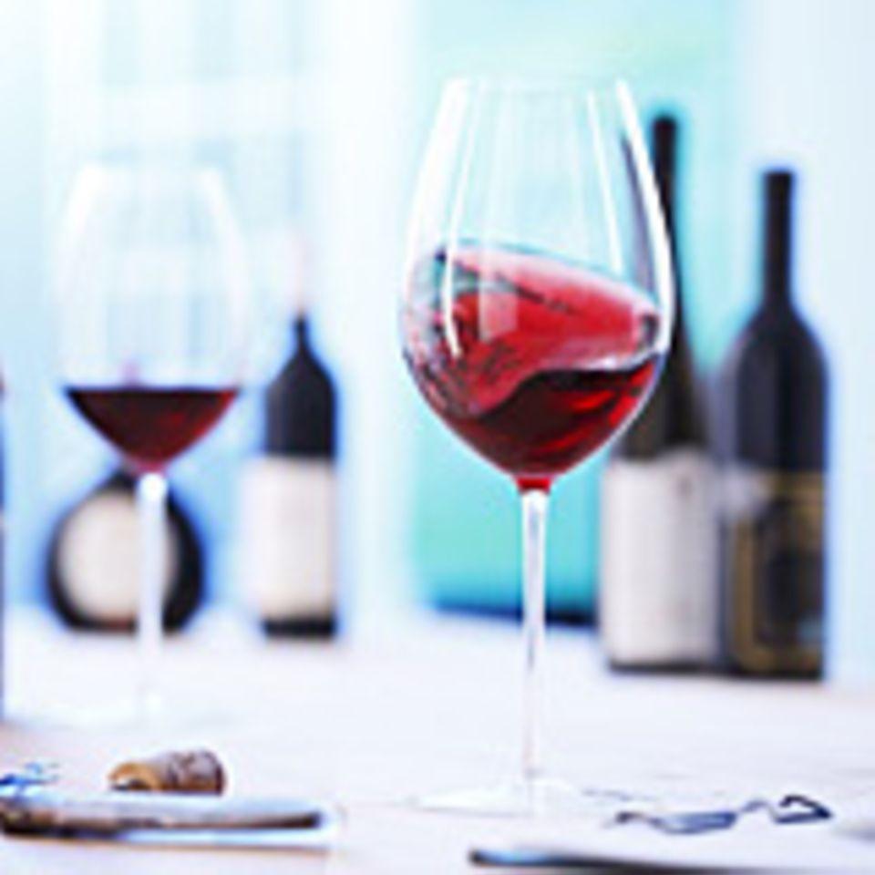 Typisch kalifornische Weine sind Cabernet Sauvignon oder Pinot Noir
