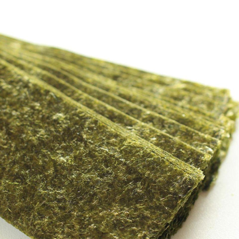 Getrocknete und geröstete Nori-Blätter