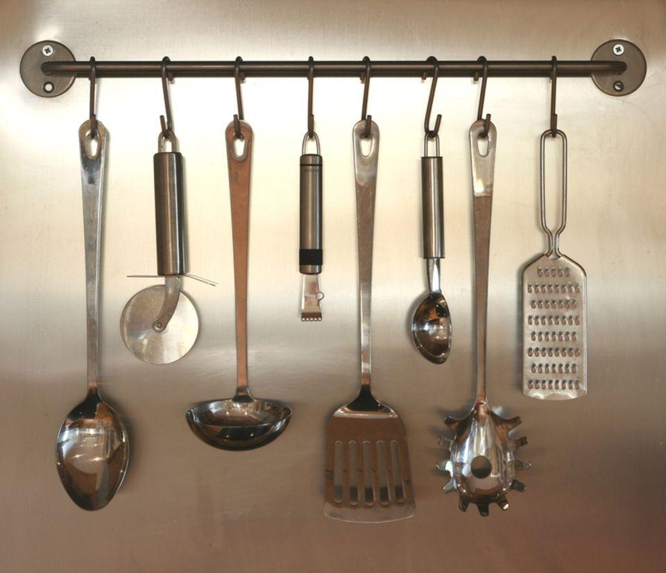 einige Küchengeräte