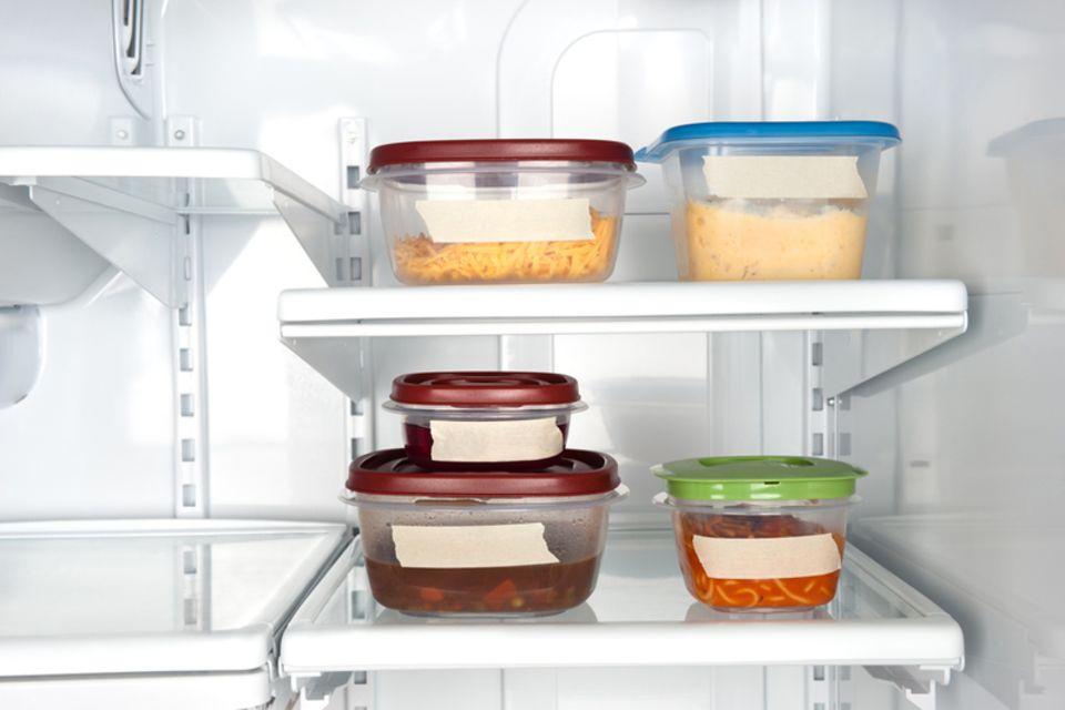 Kochen für Anfänger: Die Lagerung