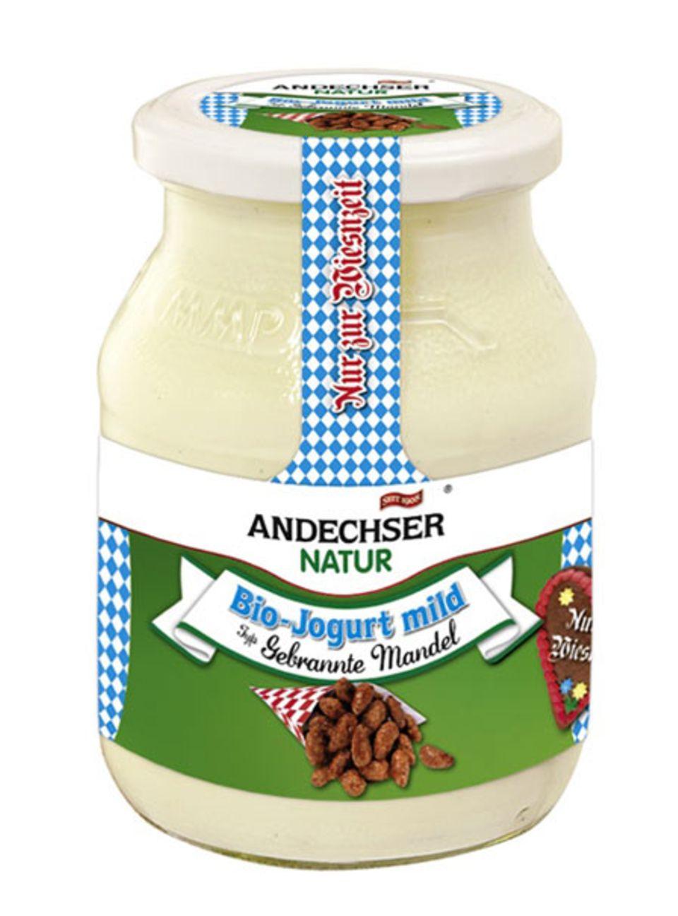 Limitierte Joghurtsorte: Gebrannte Mandeln