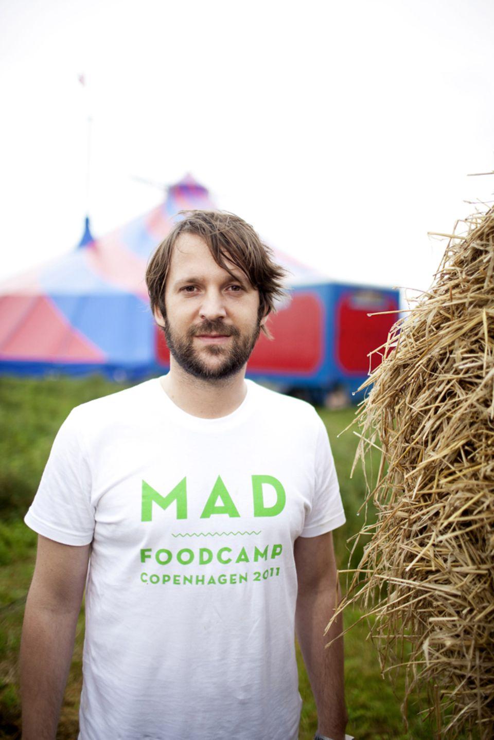 René Redzepi ist Teil des MAD Foodcamp Komitees und referierte im Symposium