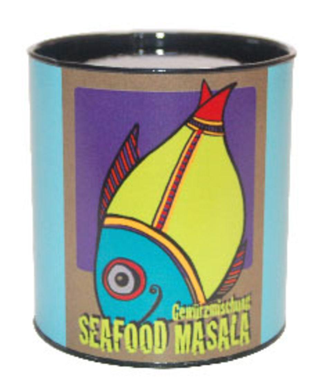 Seafood Masala - eines der vier Mischungen