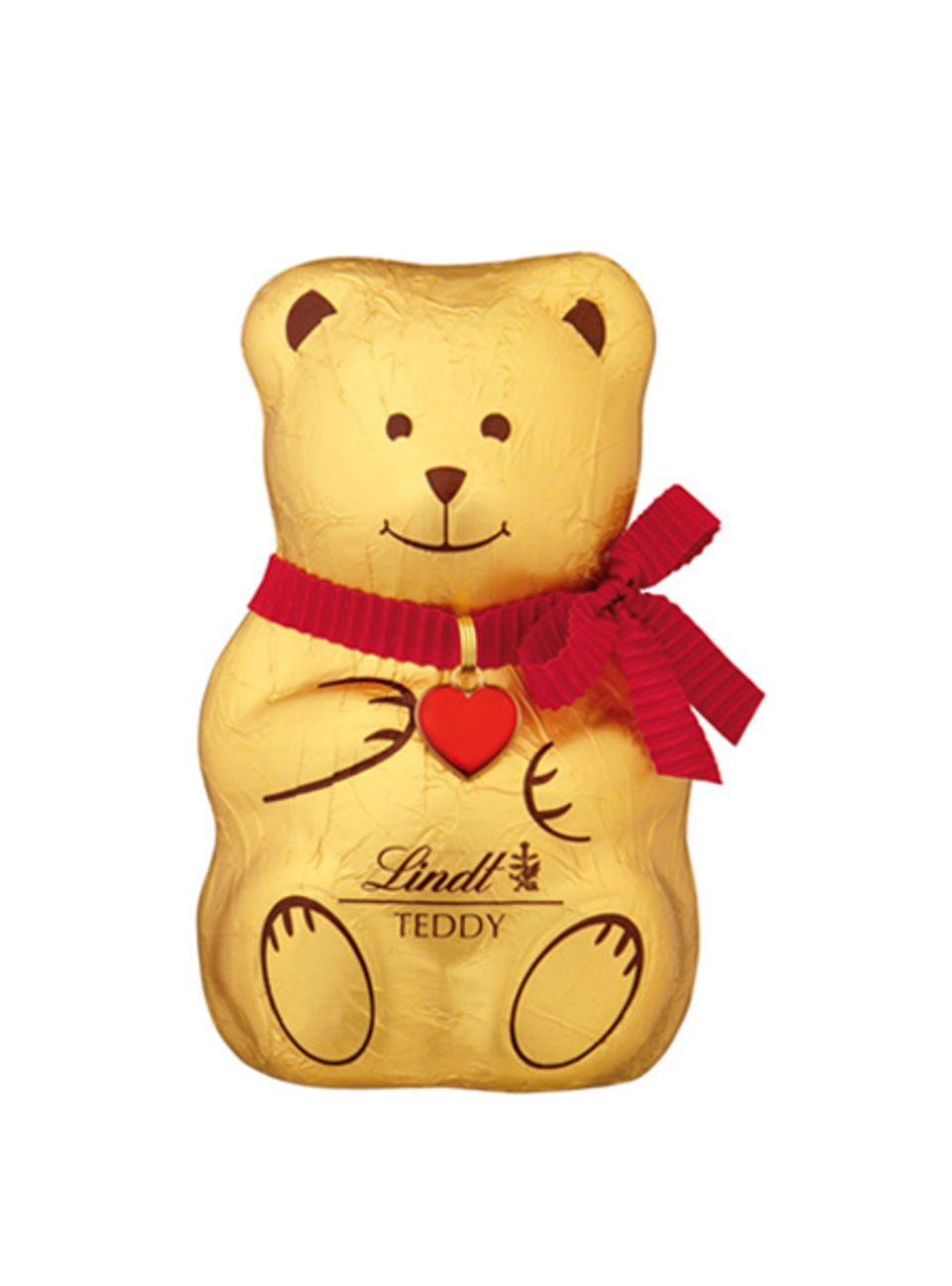 Schokolade mit Herz: Der Lindt-Teddy