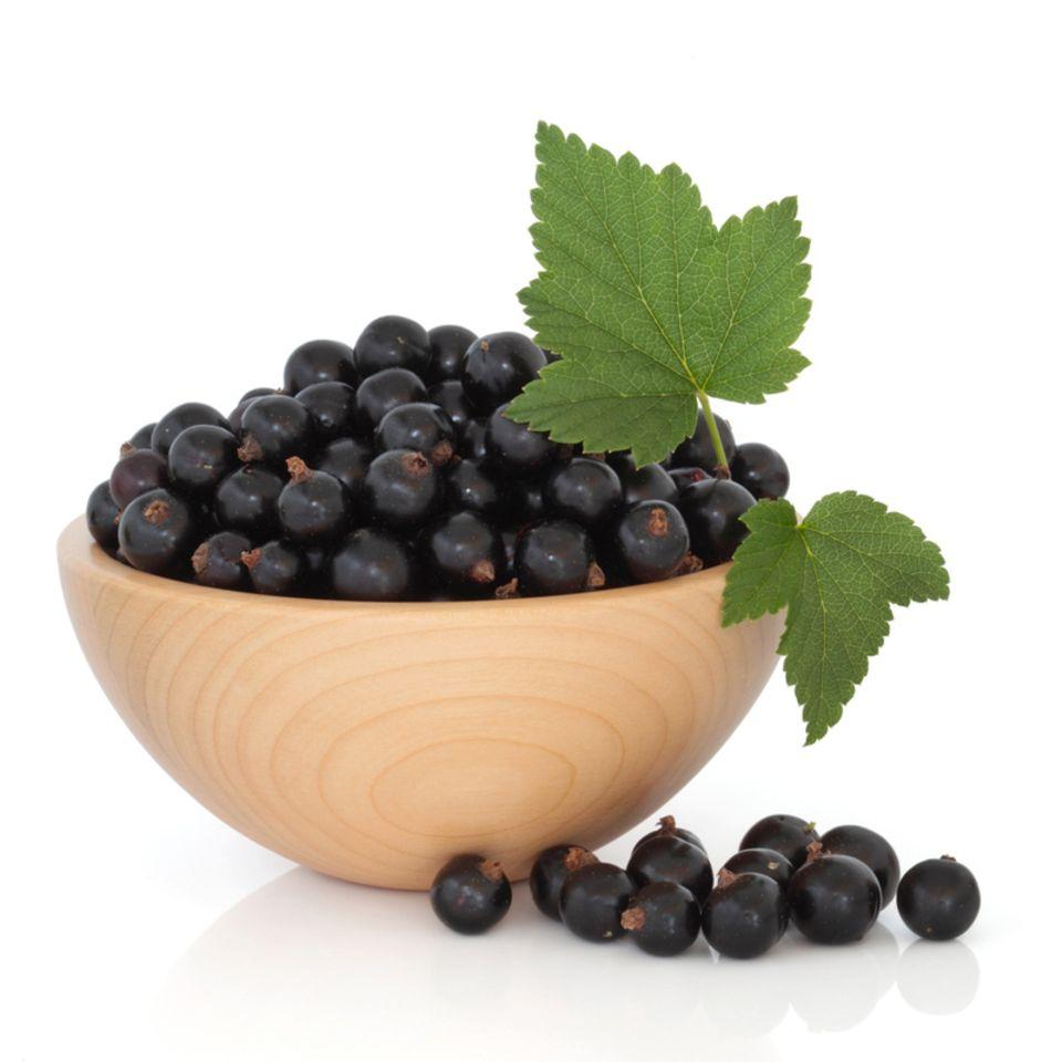 Cassis wird aus schwarzen Johannisbeeren hergestellt