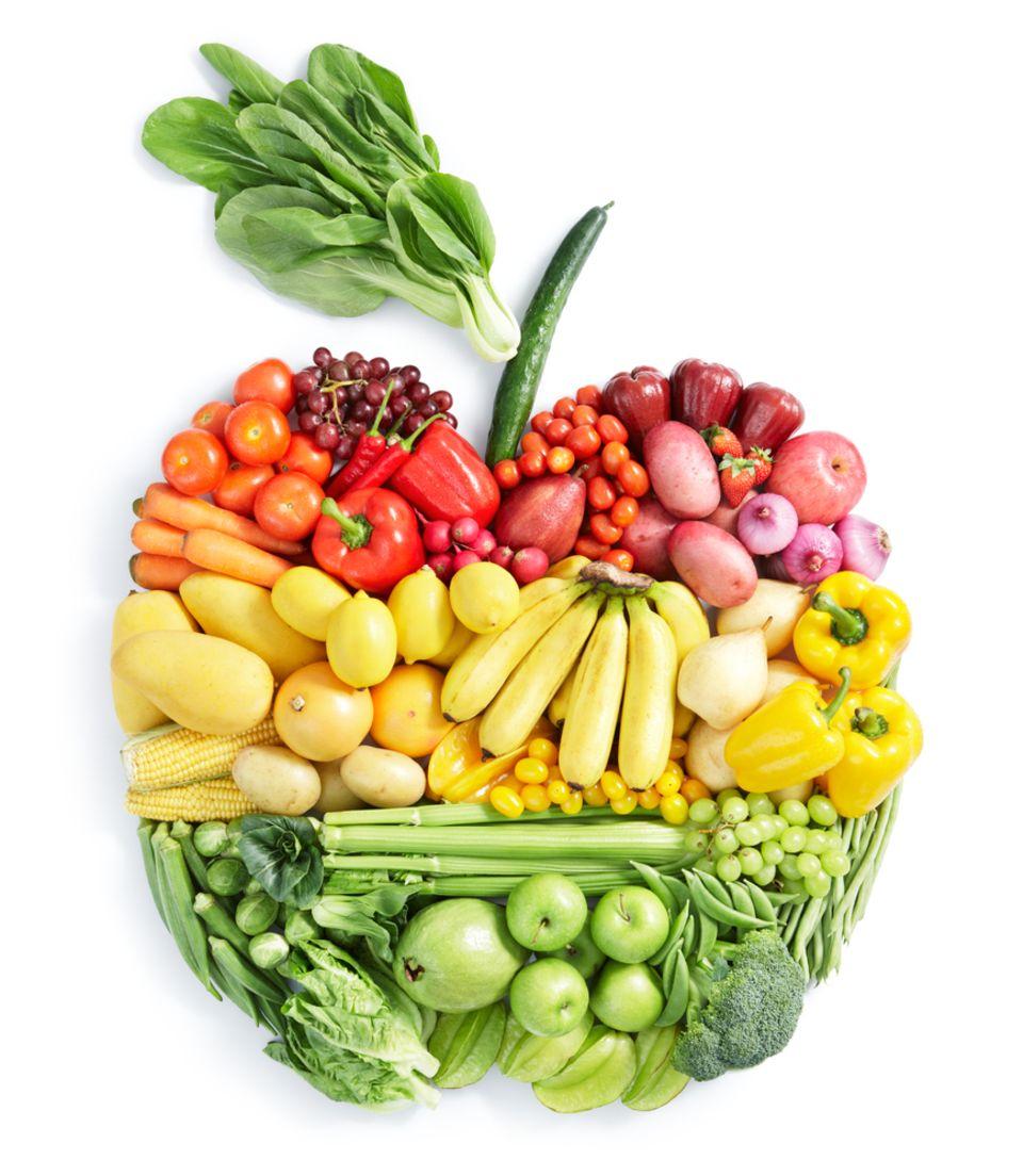 Die Weltgesundheitsorganisation (WHO) empfiehlt den täglichen Verzehr von Gemüse und Obst.