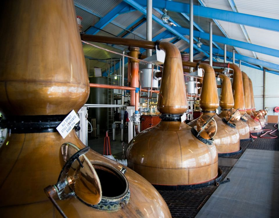 Destillationsblasen