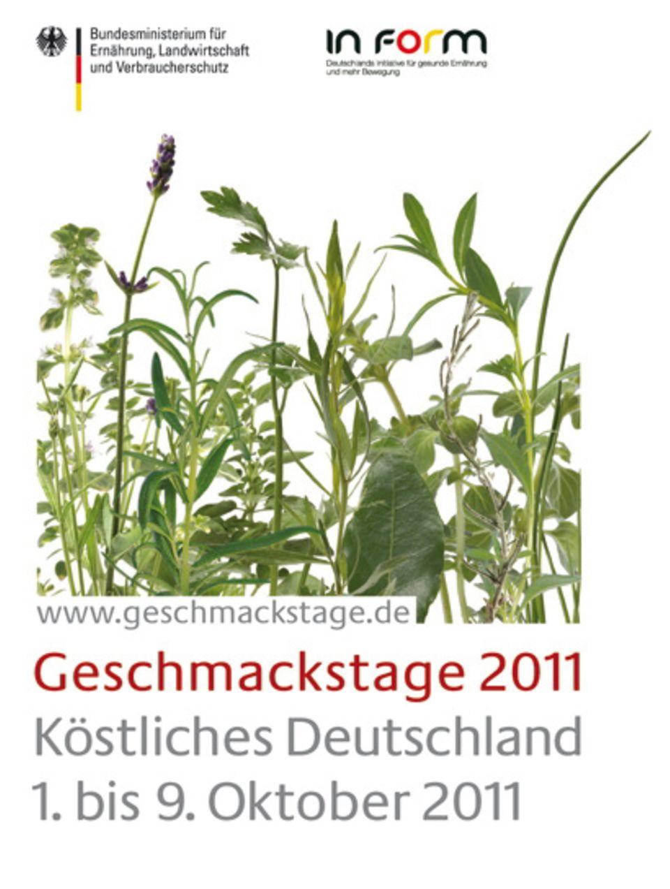 Im Zeichen der Regionen: Geschmackstage 2011