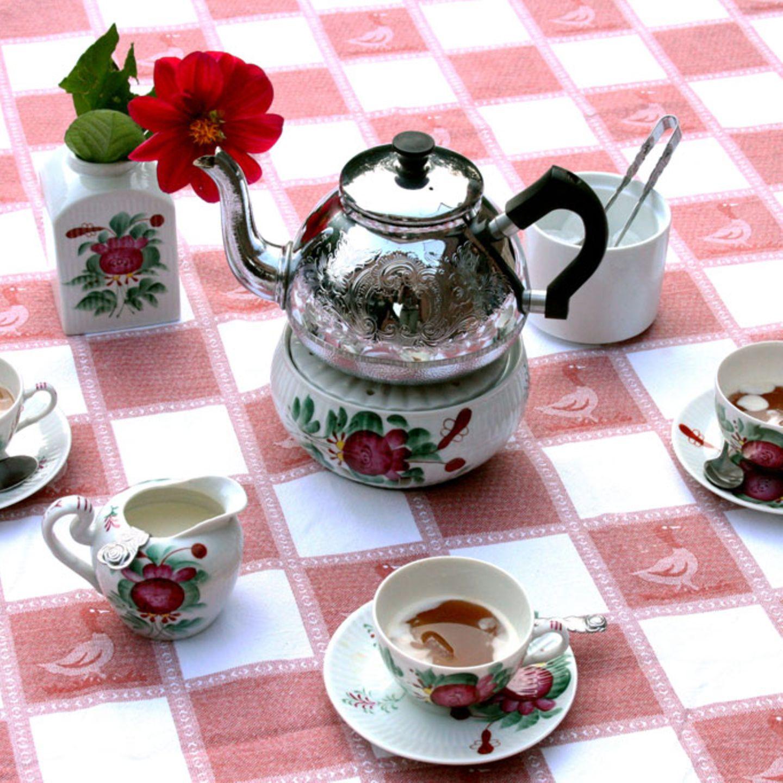 Ostfriesische Teezeremonie
