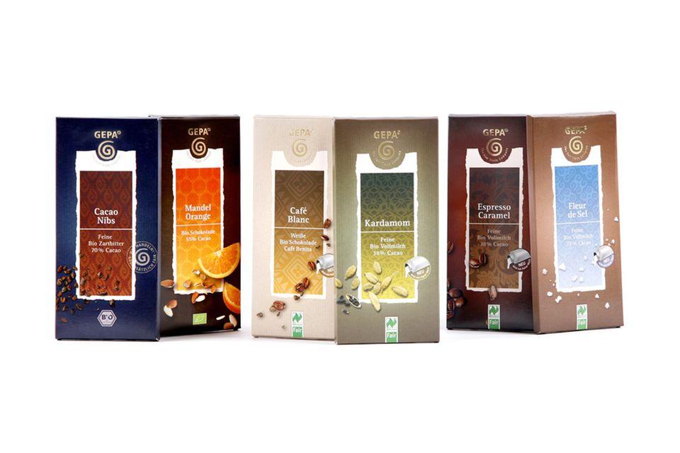 Doppelt fair: GEPA Schokolade