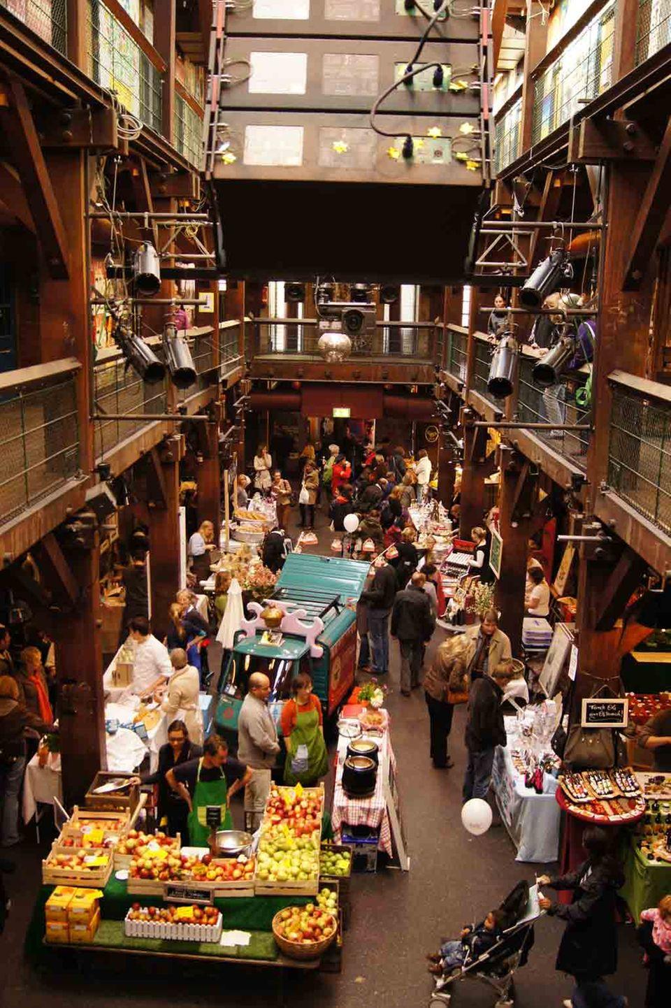 Marktkultur Indoor Wochenmarkt