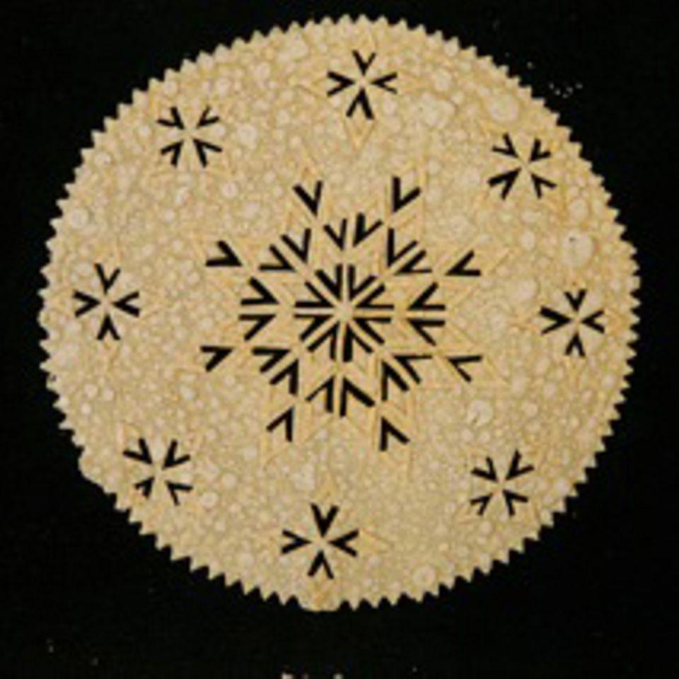 Das Besondere an dem dünnen Laufabrauð sind seine Muster
